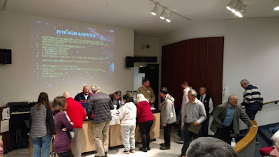 2016 AGM for RASC TC at the Ontario Science Centre
