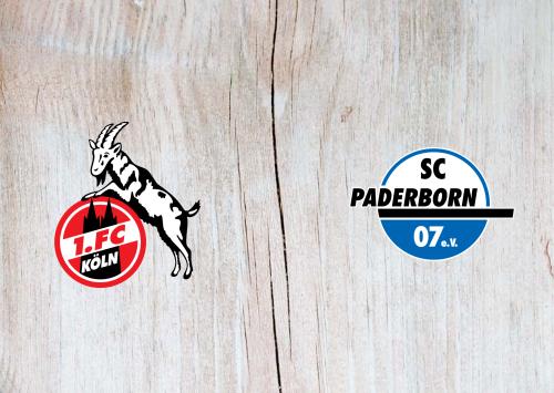 Köln vs Paderborn -Highlights 20 October 2019