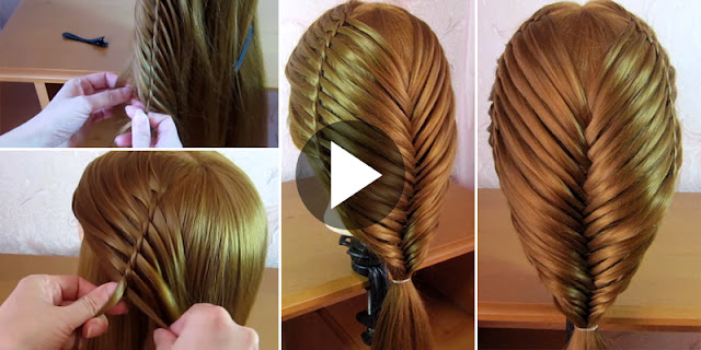 How To Create Simple Waterfall Twist Hairstyle
