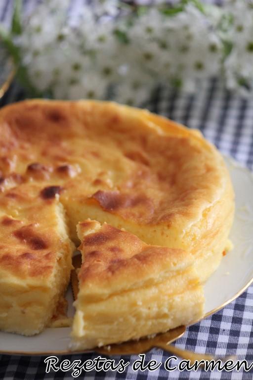 Tarta de queso de la Viña