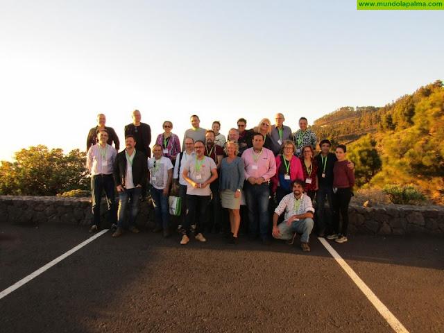 Once expertos internacionales del 'Institute of Masters of wine' conocen los vinos de La Palma