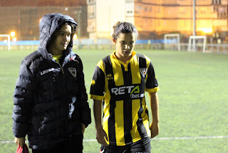 El Barakaldo CF pierde ante el Aurrerá Vitoria