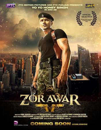 Poster Of Poster Of Zorawar 2016 Punjabi 130MB pDVD HEVC Mobile Free Download Watch Online Worldfree4u