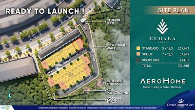 launching cluster baru citragarden city