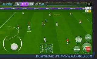 FIFA 14 Mod 21 Concept by Fabix7 Offline Apk Update Kits & Transfer