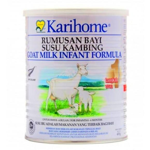 Karihome step 1 - untuk bayi berusia 0 hingga 6 bulan.
