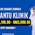 Jawatan Kosong Pembantu Klinik Dibuka. Gaji Daripada RM1,100.00 - RM3,000.00