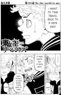 Read Tokyo Revengers Manga Chapter 191 English