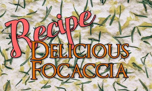 Recipe: Delicious Focaccia