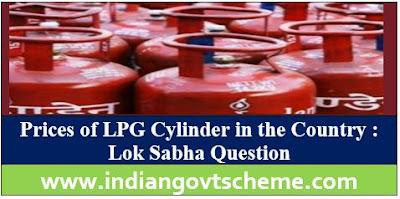 Price of LPG Cylinder