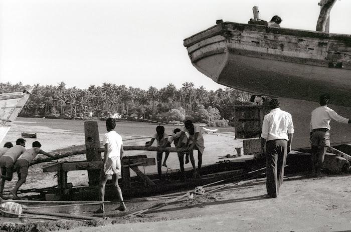 Goa, Chapora, © L. Gigout, 1990