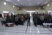 TNI AU Dan Brimob Ibadah Bersama