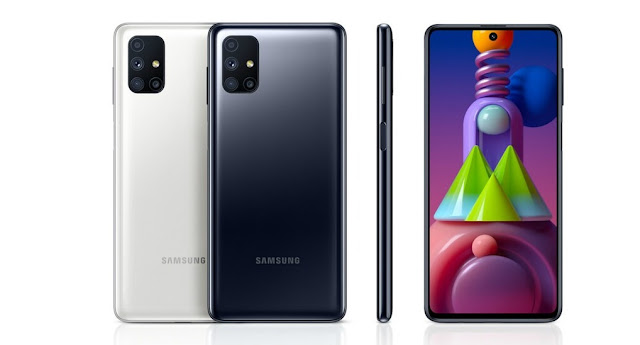 Samsung Galaxy M51 with huge 7,000 mAh battery