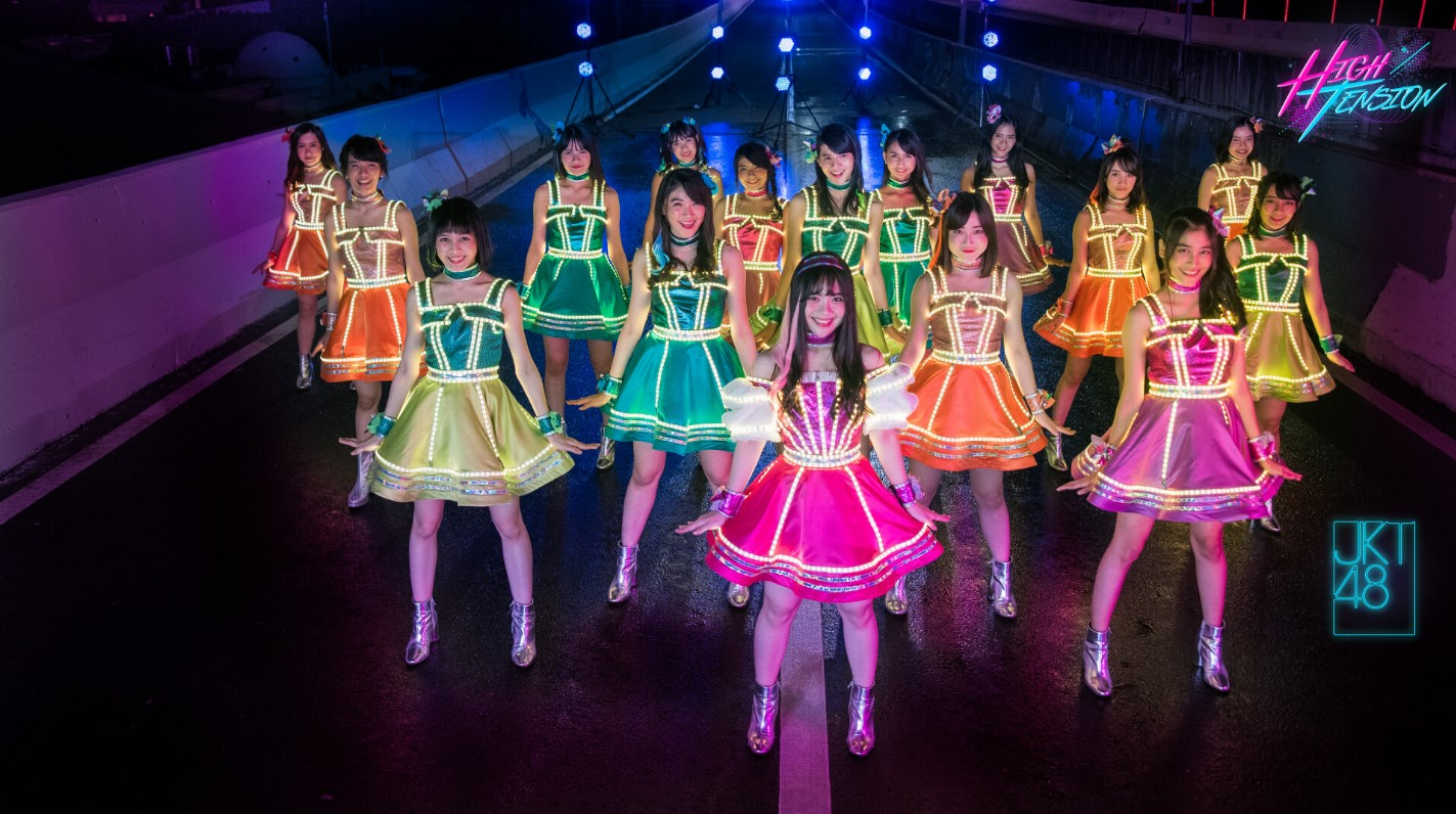 20th Single JKT48 High Tension
