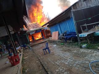 5 Rumah Warga Bakau Terbakar