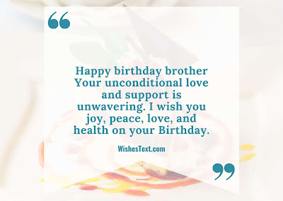 find birthday wishes for brother