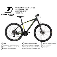 Sepeda Gunung United Miami 3.00 mtb mountain Bike