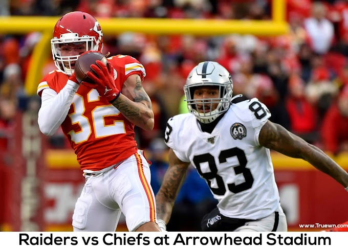 Raiders vs Chiefs at Arrowhead Stadium