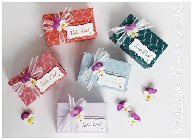 Schachtelweise Liebe Perfekte Päckchen Stampin Up