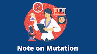 Note on mutation / gene mutation notes