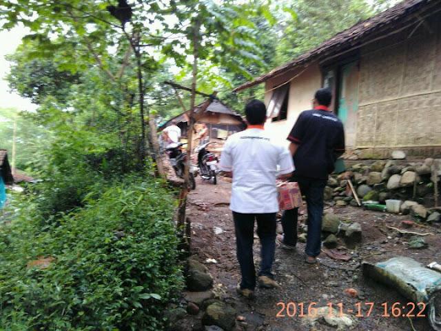 Team Lazismu Jember menuju lokasi Korban Gempa