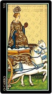 Interpretação do carro VII no tarot