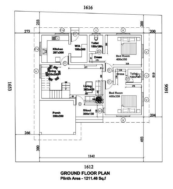 4 bedroom multi family split entry duplex house plan in