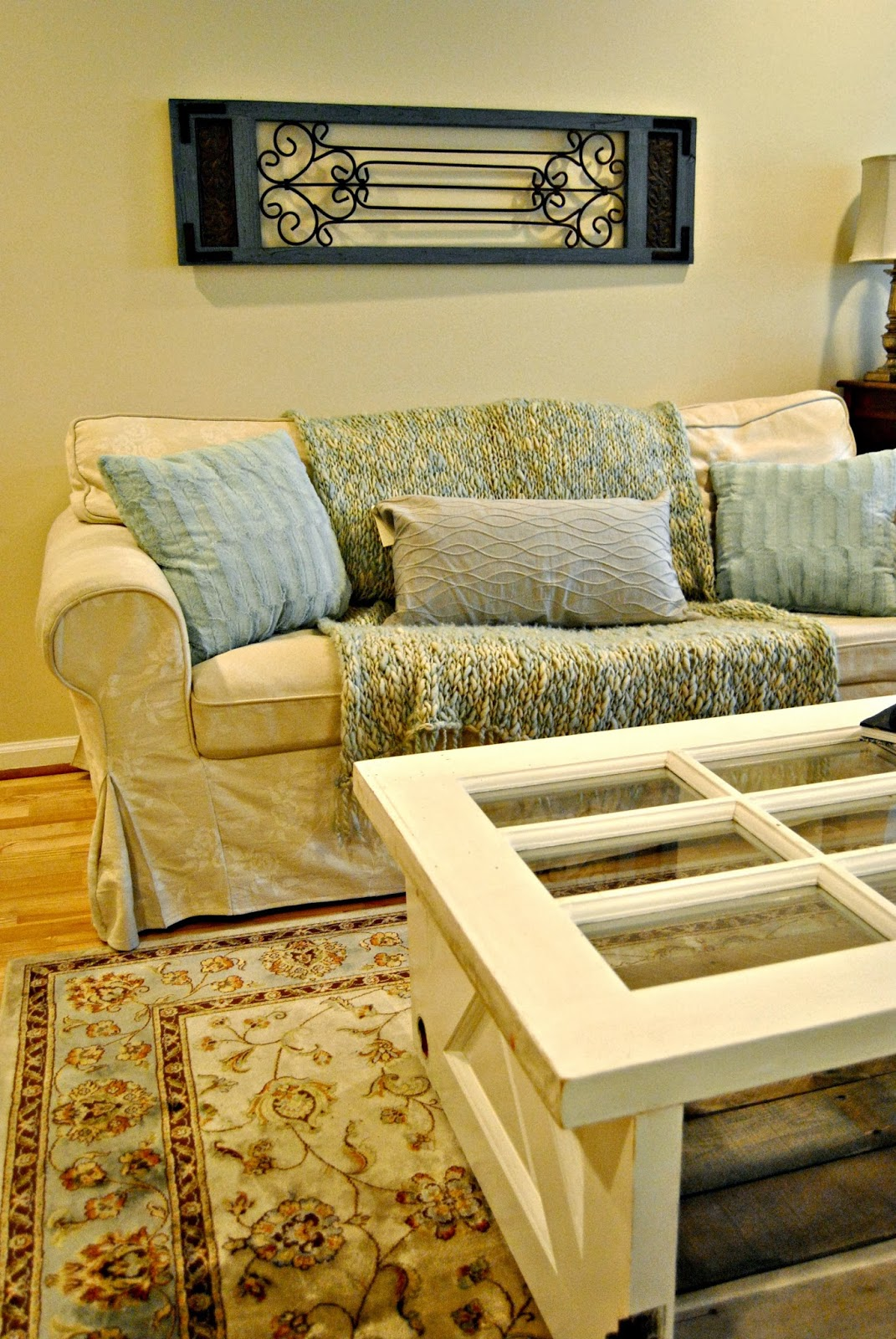 Vintage Door Coffee Table The Painted Home By Denise