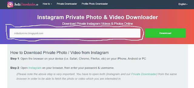Cara Download Foto dan Video di IG lewat HP