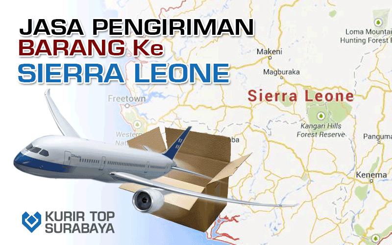 JASA PENGIRIMAN LUAR NEGERI   KE SIERRA LEONE
