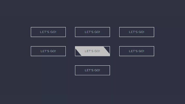 Pure CSS Button Hover Animations