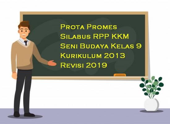 Prota, Promes, Silabus, RPP, KKM Seni Budaya Kelas 9 Kurikulum 2013