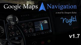 ats google maps navigation night version v1.7