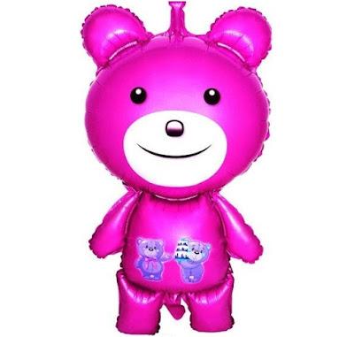 Balon Foil Teddy Bear Besar