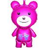Balon Foil Karakter Teddy Bear Besar