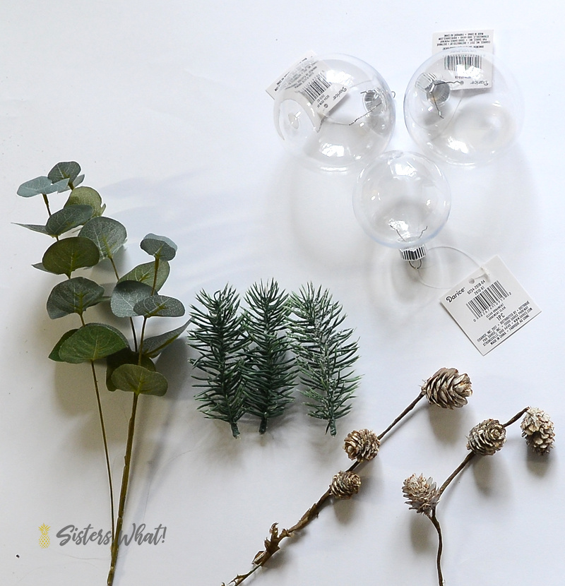 greenery for christmas ornaments
