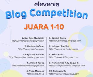 Prestasi Kontes SEO Indonesia