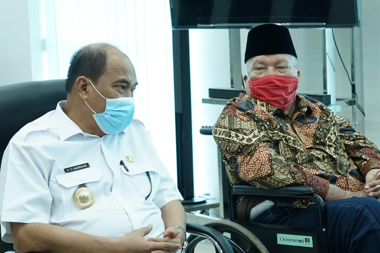 Walikota Tebingtinggi Berjanji Akan Selalu Memperhatikan Panti Asuhan Amaliyah