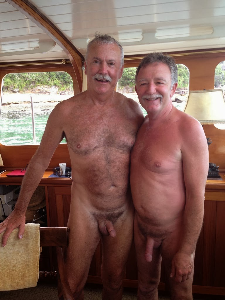 Granpa Naked Gay