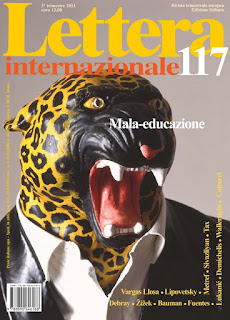 copertina Lettera Internazionale Silvana Calabrese