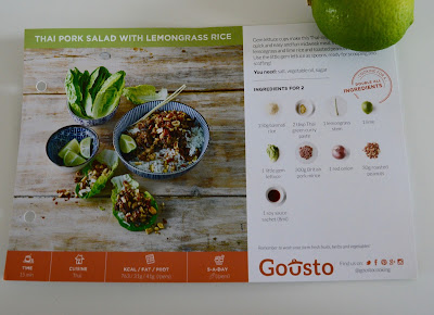 Gousto Box Review - an easy to order recipe box that's ideal if you're too busy to meal plan and counting your calories.