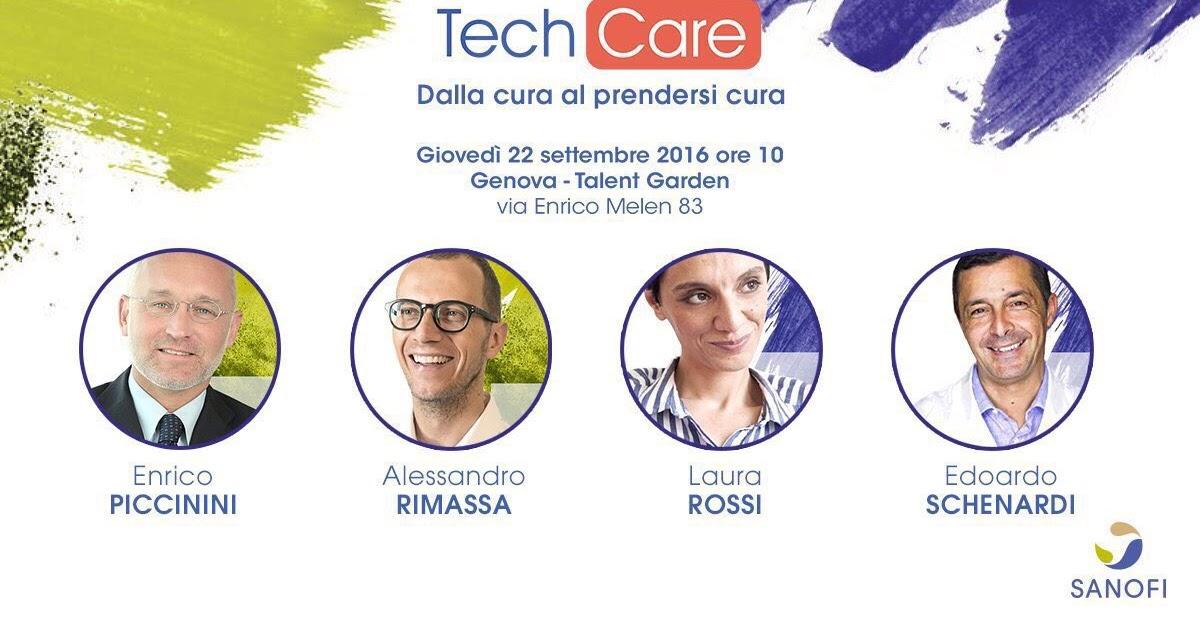 """Live streaming """"Tech Care: dalla cura al prendersi cura"""""""
