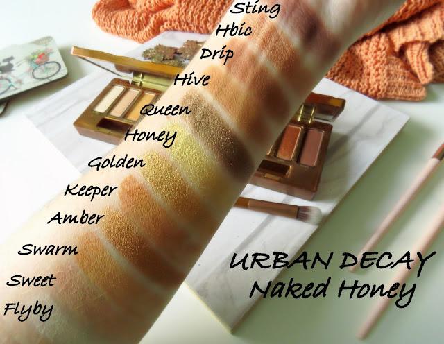 Urban Decay Naked Honey paletka odtiene