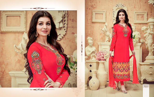 Lowest  Price Famous Bollywood Actors Ayesha Takia Style Salwar Kameez Online Shopping.