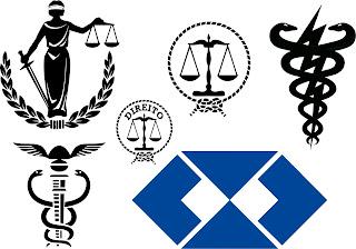 símbolo profissões vetor
