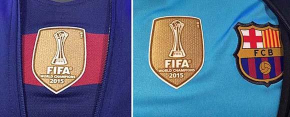 Football teams shirt and kits fan  FC Barcelona 2015 FIFA Club World ... 8fb4af60e