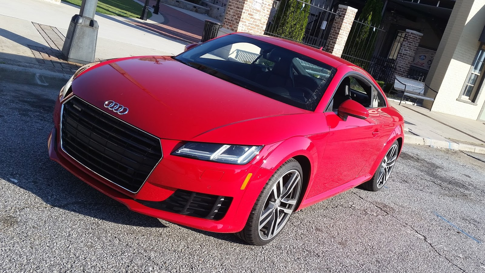 2016 Audi TT Coupe: An Innovative Groundbreaking Vehicle