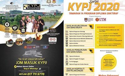 Permohonan KYPJ 2020 Online (Kolej Yayasan Pelajaran Johor)