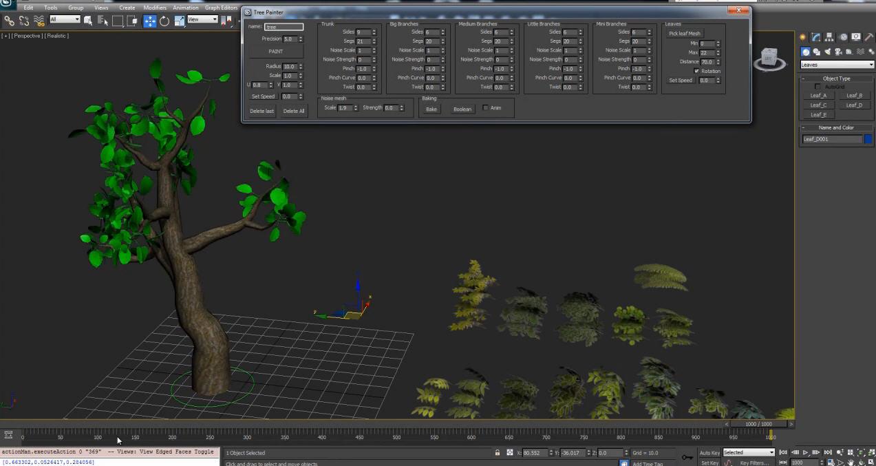 TreePainter Script for 3dsmax | Computer Graphics Daily News