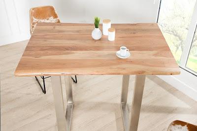 stolíky Reaction, nábytok z masívneho dreva, dizajnový nábytok